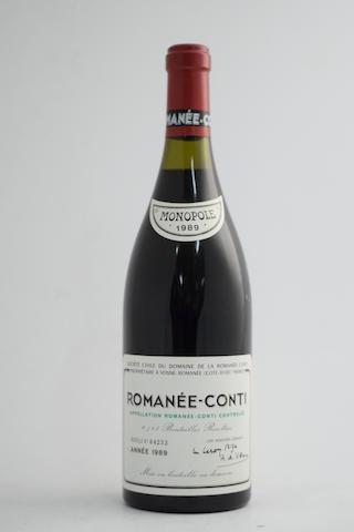 Romanée-Conti 1989, Domaine de la Romanée-Conti (1)