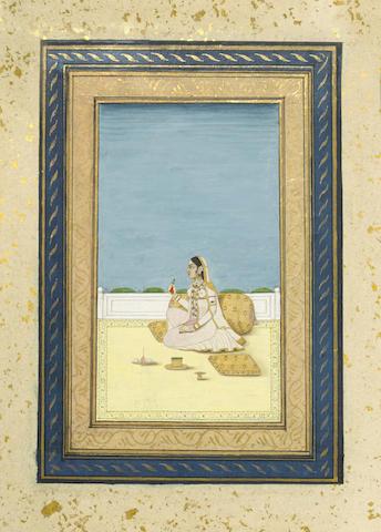 A portrait of a noblewoman