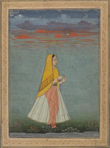 A portrait of a princess