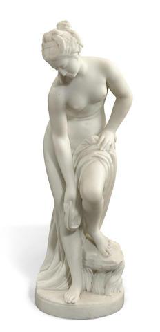 An Italian marble figure of Venus