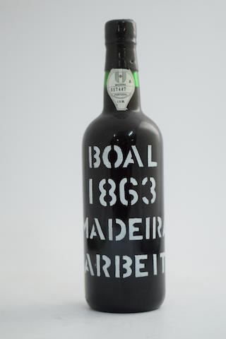Barbeito Boal 1863, Island bottled (1)