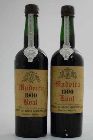 Manuel da Sousa Bual 1900, Island bottled (2)