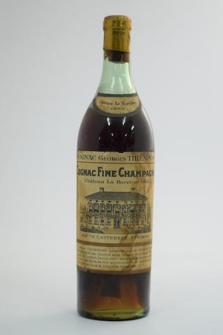 Château La Barrière Fine Champagne Cognac 1865, Georges Thienpont, BE (1)