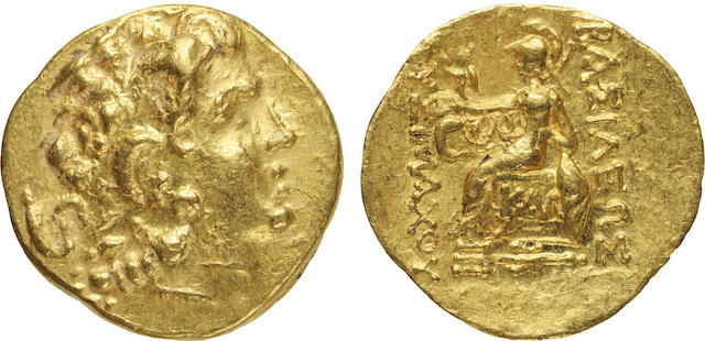 Kings of Pontos, Mithradates VI, Gold AV Stater, ca. 120-63 B.C., About Uncirculated NGC