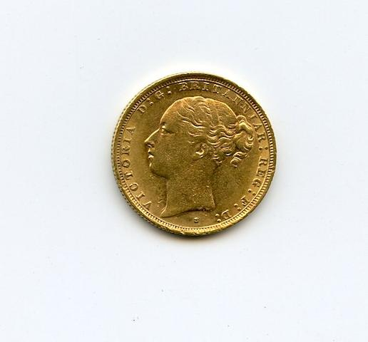 Australia, Victoria (Young Head), Gold Sovereign, 1887-S