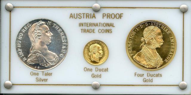 Austria, International Trade Coins (3)