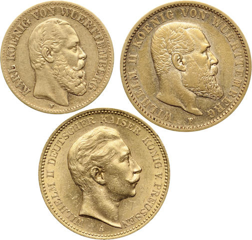 Germany Gold Coin Group (3)