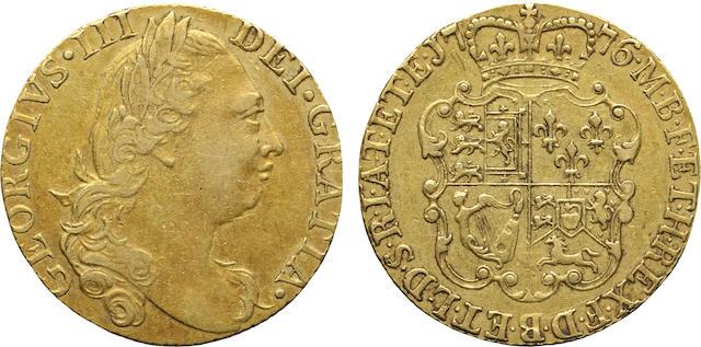 Great Britain, George III (1760-1820), Gold 1 Guinea, 1776