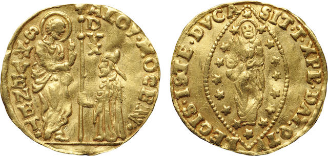 Italy, Venice, Alvise Mocenigo IV (1763-1778), Gold Zecchino, Undated