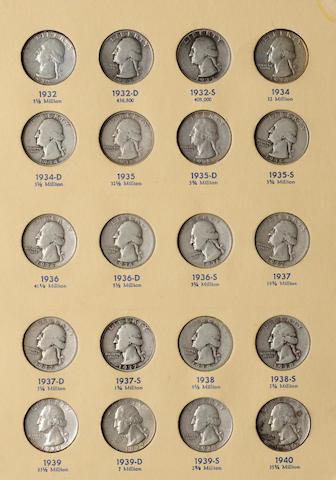 Library of Coins Washington Quarters Set