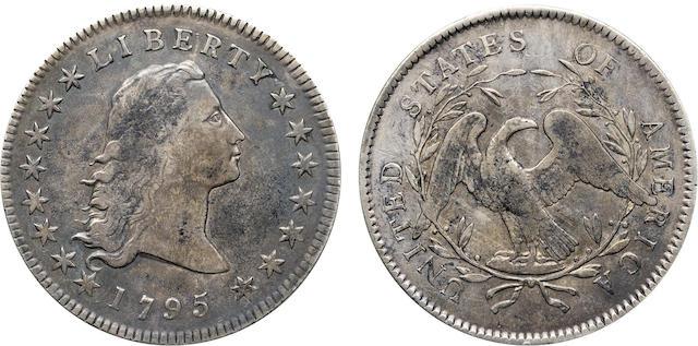 1795 Flowing Hair $1