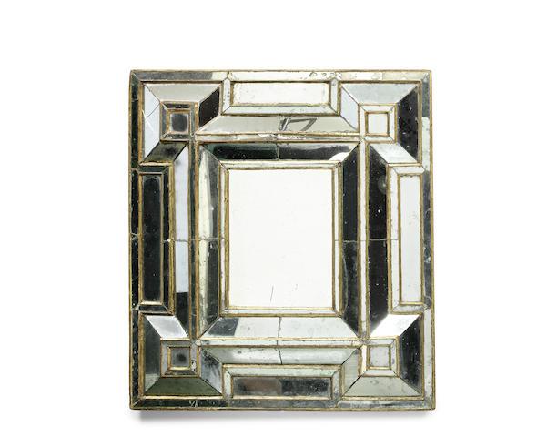An Italian late 19th/early 20th century marginal mirror