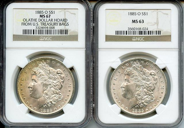 1885-O NGC Certified Dollars (2)