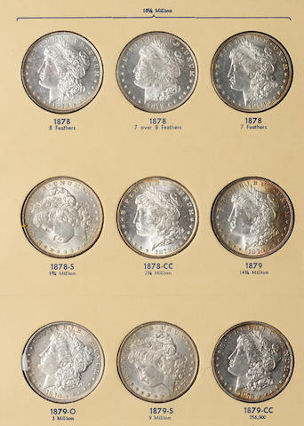 Library of Coins 3 Volume Liberty Head Silver Dollars Set, volumes 23-25