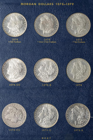 Whitman Morgan Dollars Set 1878-1921-S