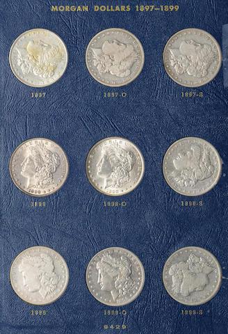 Whitman Morgan Dollars Set 1897-1921 (2)