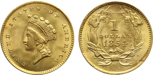 1854 Type Two G$1