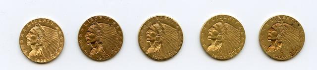 Indian Quarter Eagles (5)