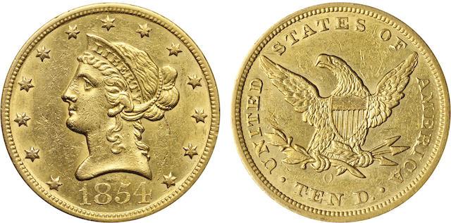 1854-O $10