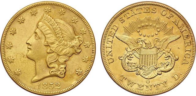 1852-O $20