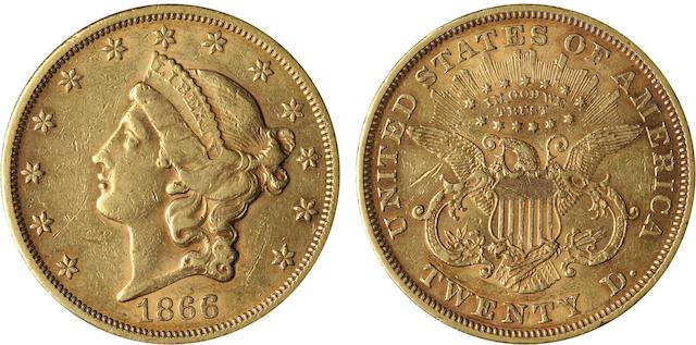 1866 $20