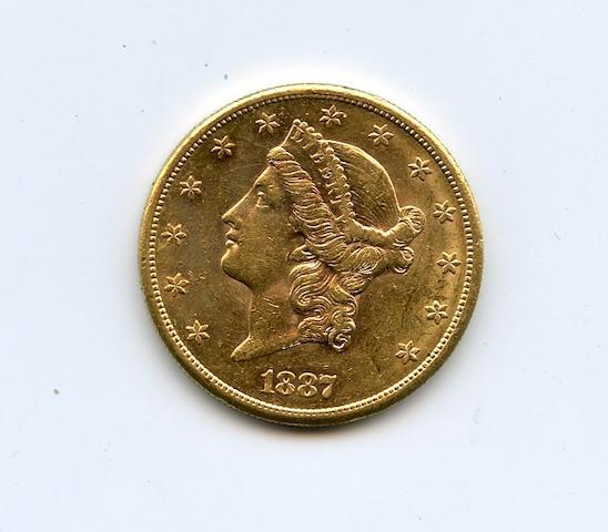1887-S $20
