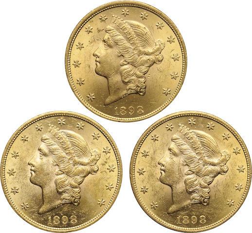 1898 $20 (3)