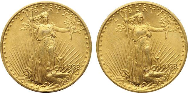 1908 Motto $20 (2)
