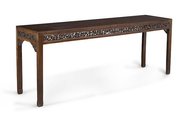 A hongmu low table