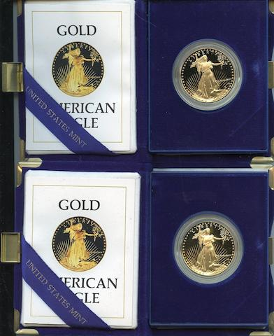1987-W $50 One Ounce Gold Eagle (2)