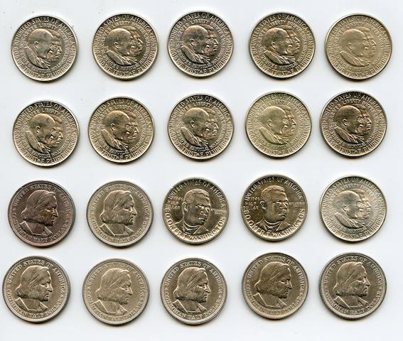 Commemorative Silver Half Dollars (20)