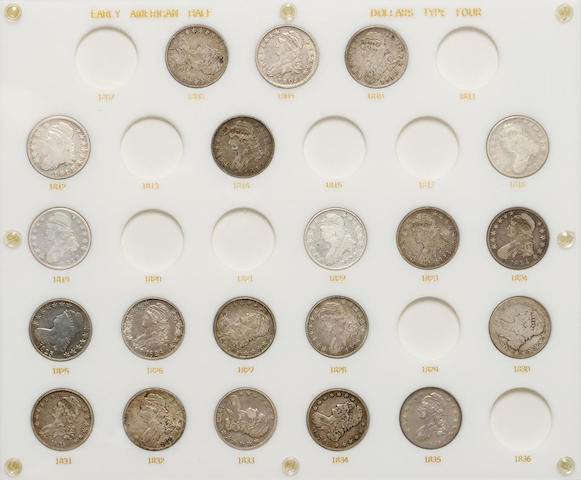 Partial Type Sets of U.S. Coins in Capital Plastic Holders