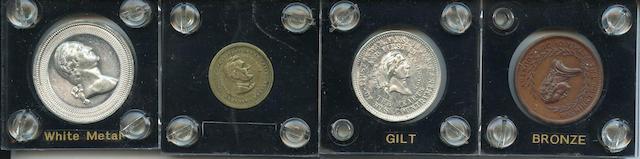 Selection of Washington & Lincoln Tokens (4)