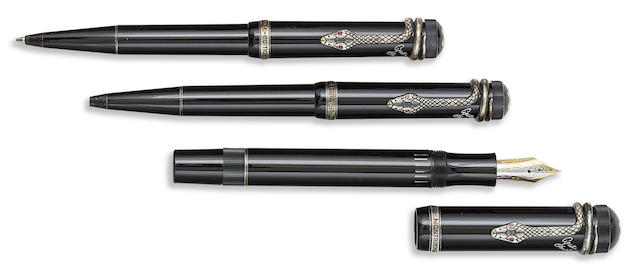 MONTBLANC: Agatha Christie Set of Three Writers Series Limited Edition Instruments