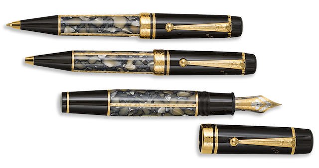 MONTBLANC: Alexandre Dumas [Fils] Writers Series Set of Three Limited Edition Instruments