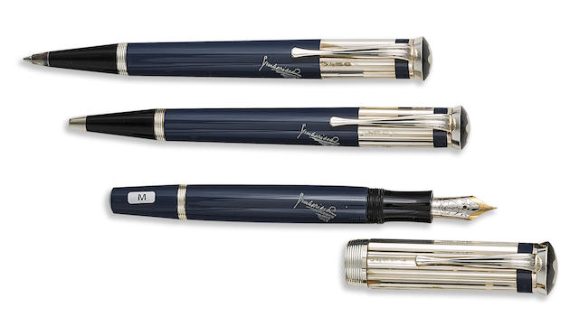 MONTBLANC: Charles Dickens Writers Series Set of Three Limited Edition Instruments