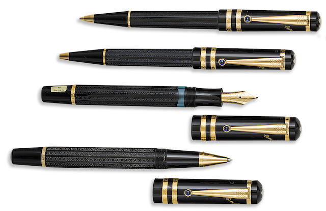 MONTBLANC: Dostoevsky Writers Series Set of Four Limited Edition Instruments