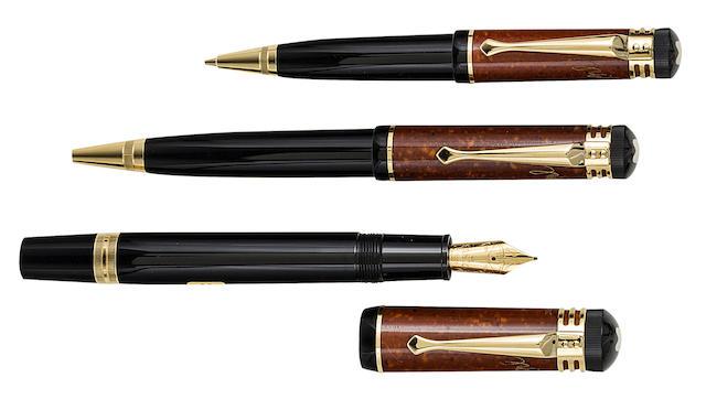 MONTBLANC: Friedrich Schiller Writers Series Set of Three Limited Edition Instruments