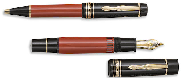 MONTBLANC: Hemingway Writers Series Limited Edition Fountain Pen & Ballpoint Lot