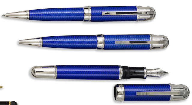 MONTBLANC: Jules Verne Writers Series Set of Three Limited Edition Instruments