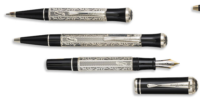 MONTBLANC: Marcel Proust Writers Series Set of Three Limited Edition Instruments