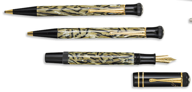 MONTBLANC: Oscar Wilde Writers Series Set of Three Limited Edition Instruments