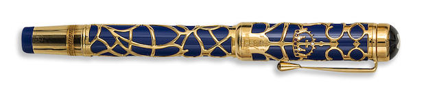 MONTBLANC: Prince Regent Patron of Art Limited Edition 888 Fountain Pen