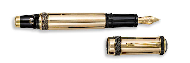 MONTBLANC: Friedrich II the Great Patron of Art Series Limited Edition 4810 Safety Fountain Pen