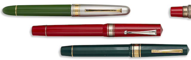 OMAS: Lot of Three Limited Edition Fountain Pens