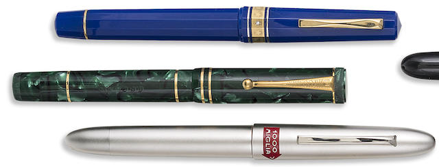 OMAS: Lot of Three European-Themed Limited Edition Fountain Pens