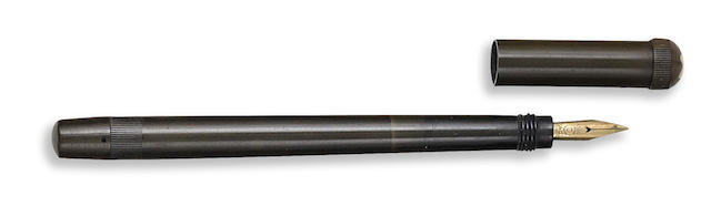 MONTBLANC: No. 0 Baby Safety Fountain Pen, Black Hard Rubber