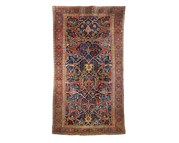 A Bidjar carpet, Persian/Kurdistan