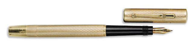 MONTBLANC: No. 2 Solid 14K Gold Safety Fountain Pen, Jeweler-made