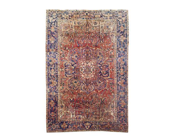A Heriz carpet, North West Persia